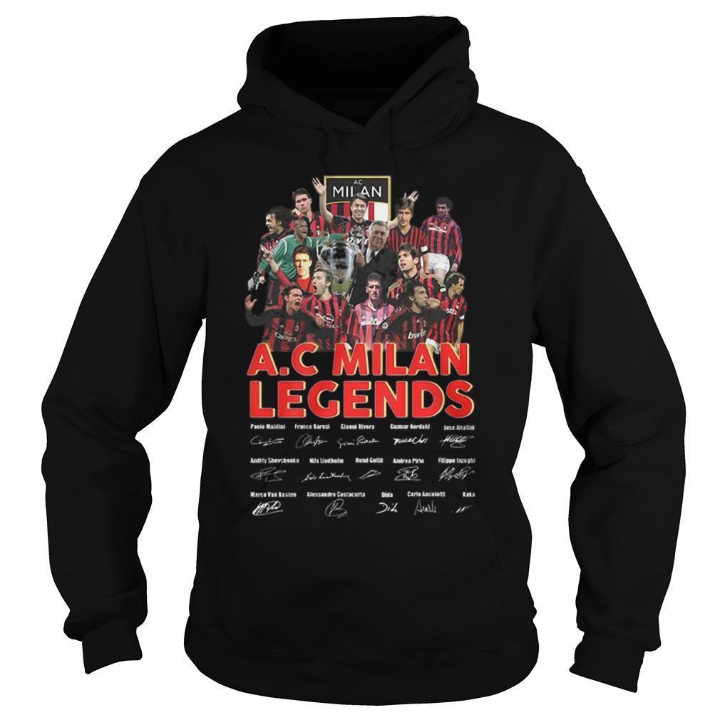 Ac Milan Legends Signature Hoodie