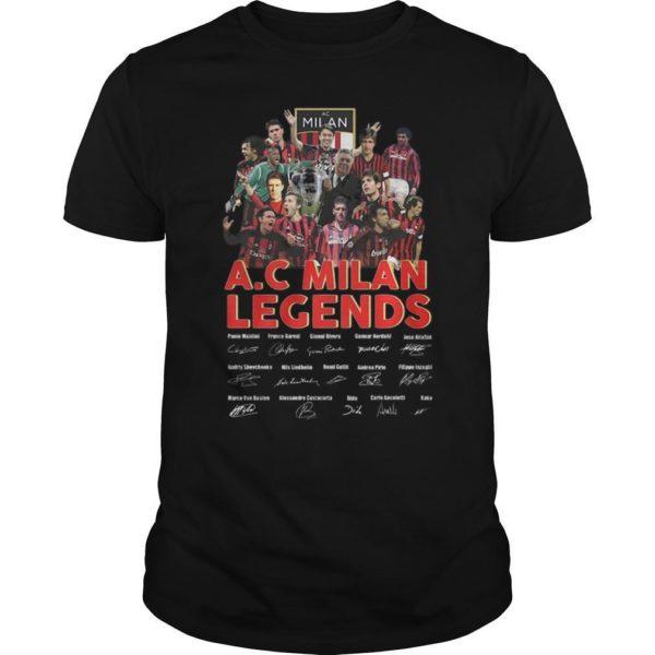 Ac Milan Legends Signature Shirt