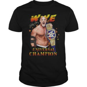 Bill Goldberg Wwe Universal Champion Shirt