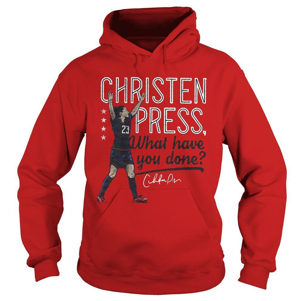 Christen Press What Have You Done Hoodie