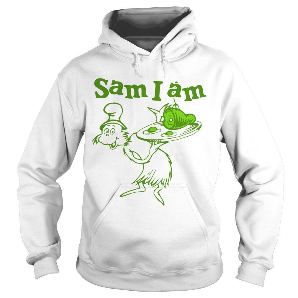 Dr Seuss Sam I Am Green Eggs And Ham Hoodie