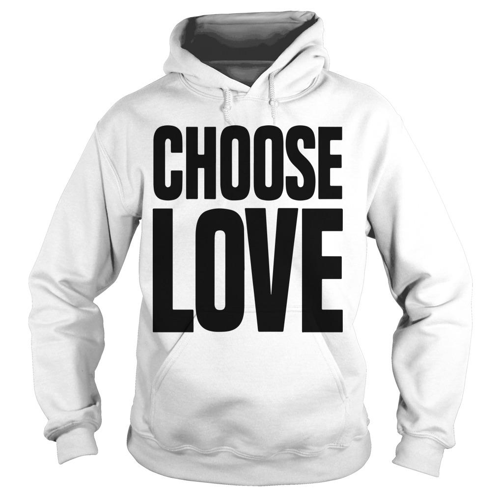 Funeral Caroline Flack Choose Love T Hoodie
