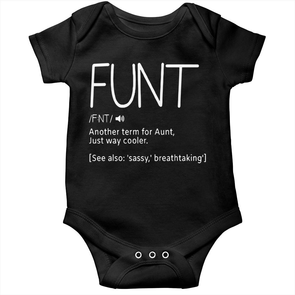 Funt Another Term For Aunt Just Way Cooler Longsleeve