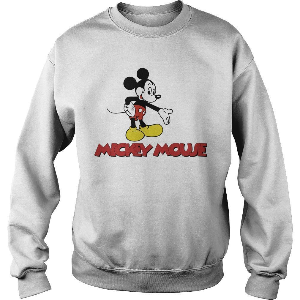 Harry Styles Mickey Mouse Sweater