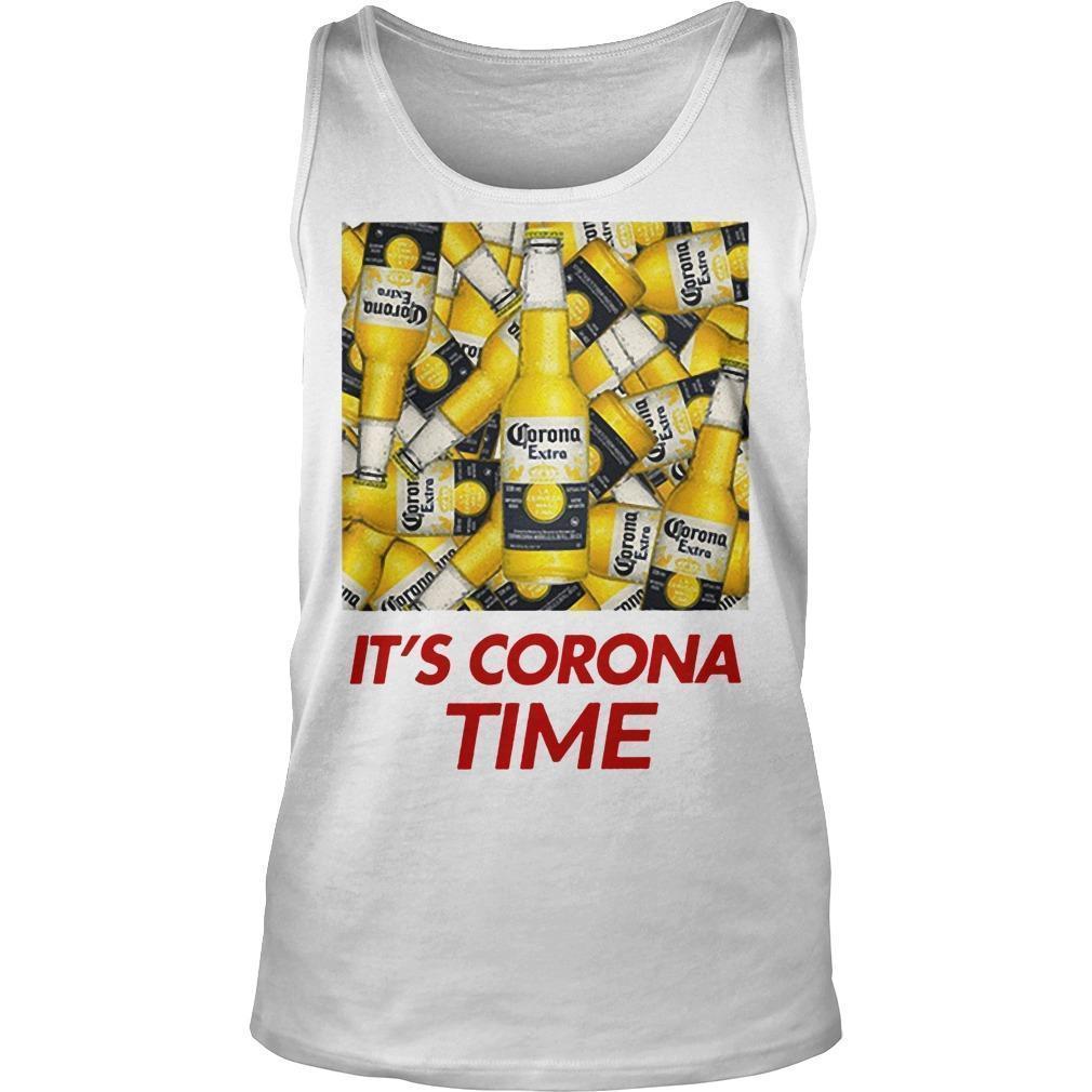 Its Corona Time Tank Top