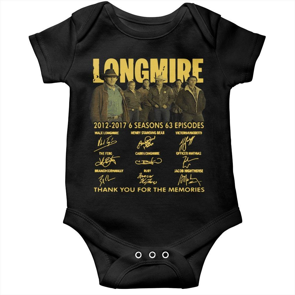 Longmire 2012 2017 6 Seasons 63 Episodes Longsleeve