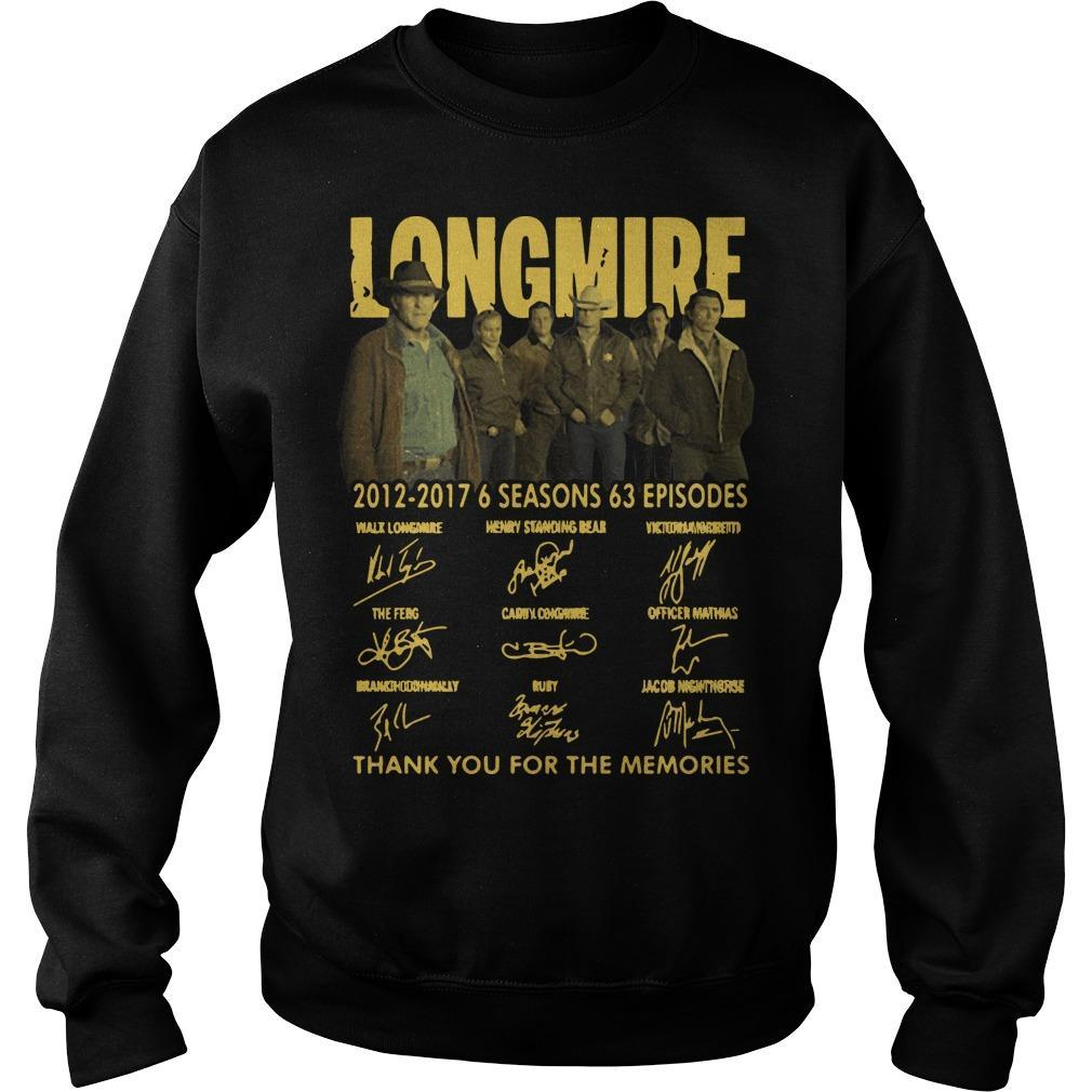 Longmire 2012 2017 6 Seasons 63 Episodes Sweater