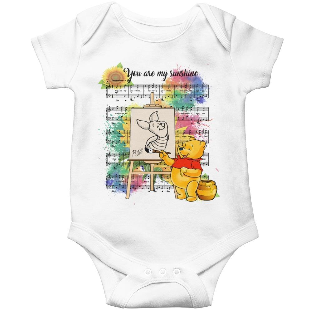 Pooh And Piglet You Are My Sunshine Music Longsleeve