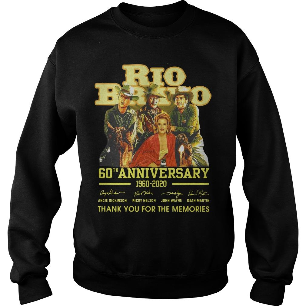 Rio Bravo 60th Anniversary 1960 2020 Thank You For The Memories Signatures Sweater