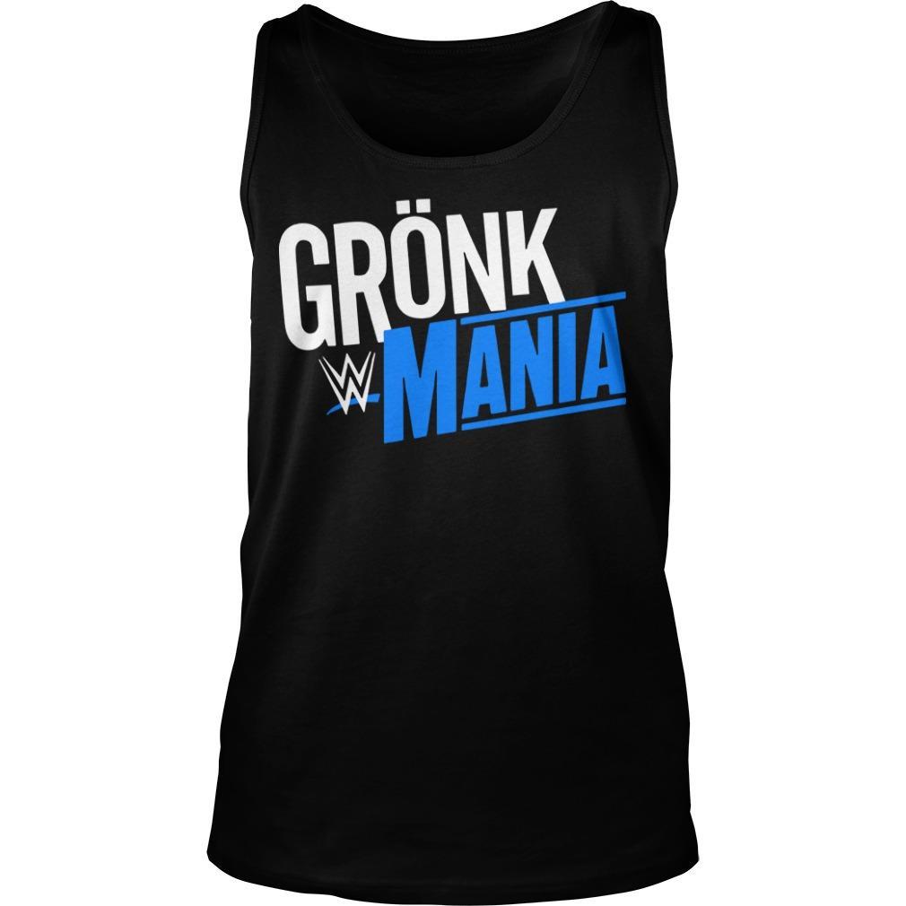 Rob Gronkowski Grönk Mania Tank Top