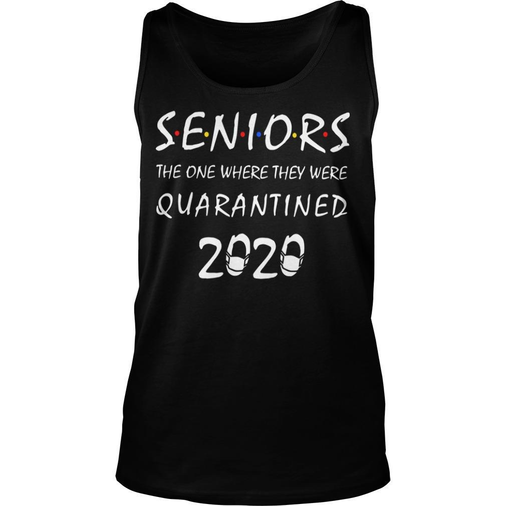 Seniors The One Where They Were Quarantined 2020 Tank Top