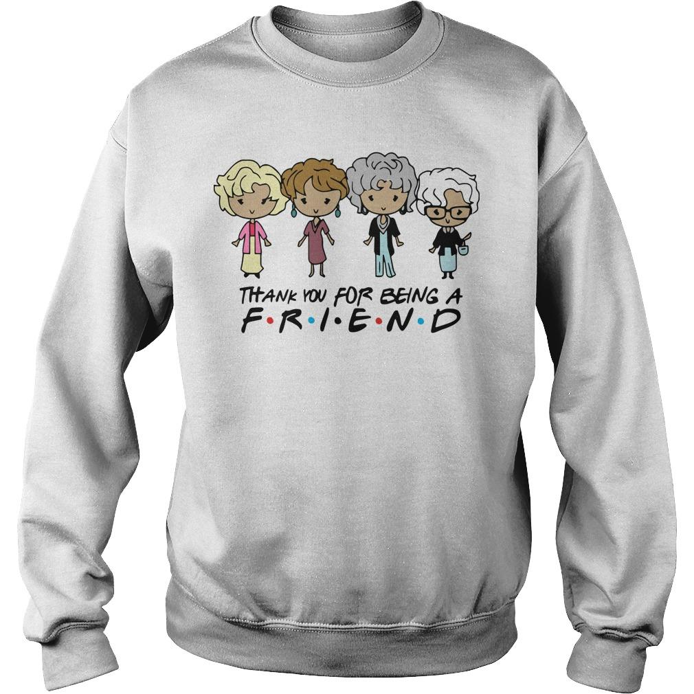 The Golden Girls Thank You For Being A Friend Sweater