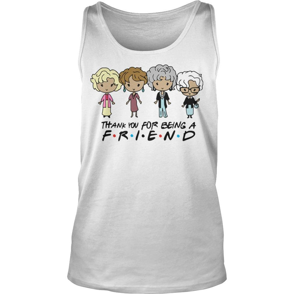 The Golden Girls Thank You For Being A Friend Tank Top
