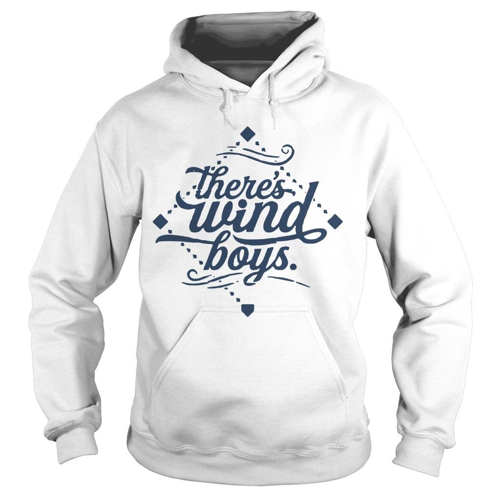 There's Wind Boys Hoodie