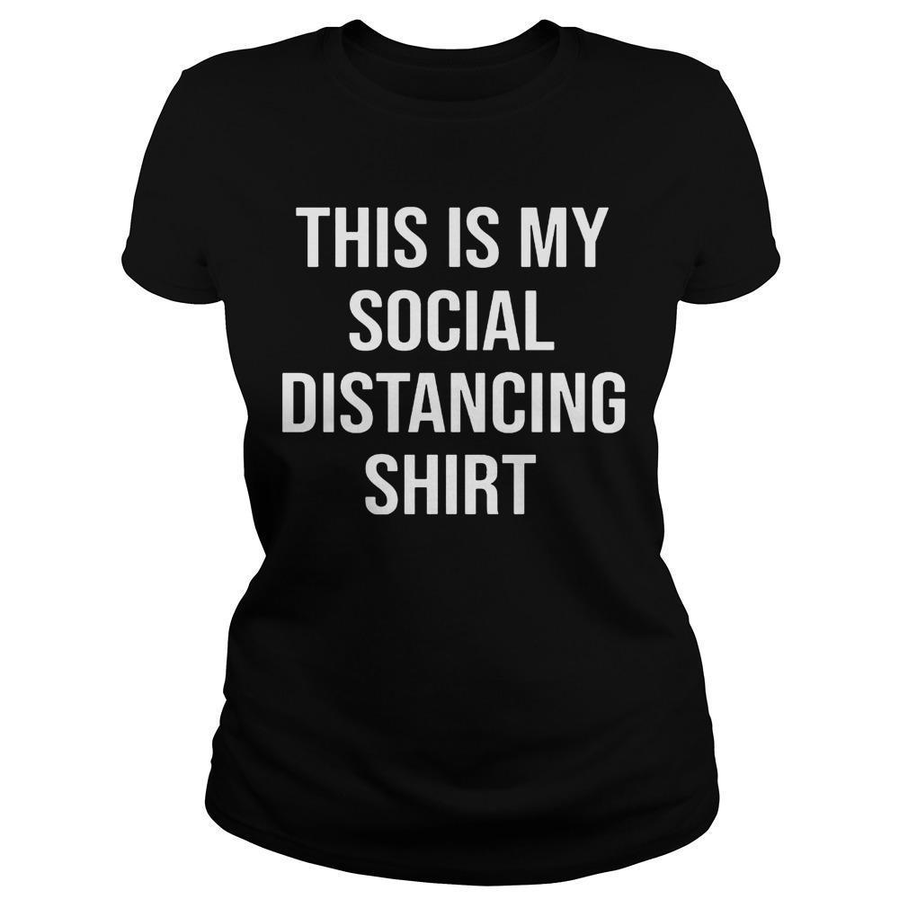 This Is My Social Distancing Longsleeve