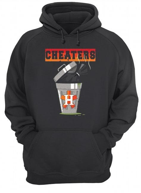 Trash Can Houston Trashtros Cheaters Hoodie