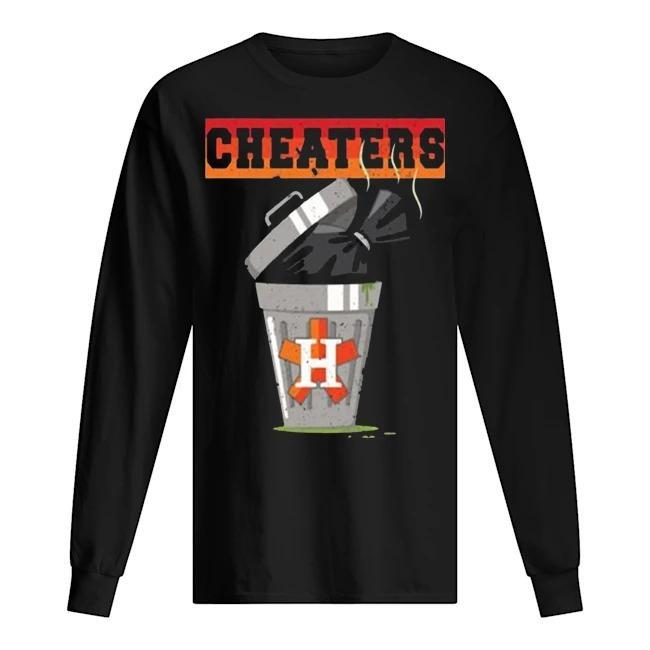 Trash Can Houston Trashtros Cheaters Longsleeve