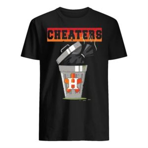 Trash Can Houston Trashtros Cheaters Shirt