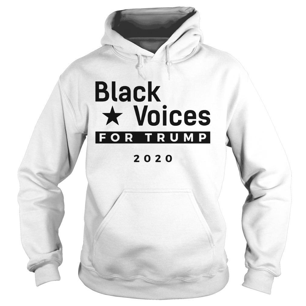 Trump Black Voice For Trump Hoodie