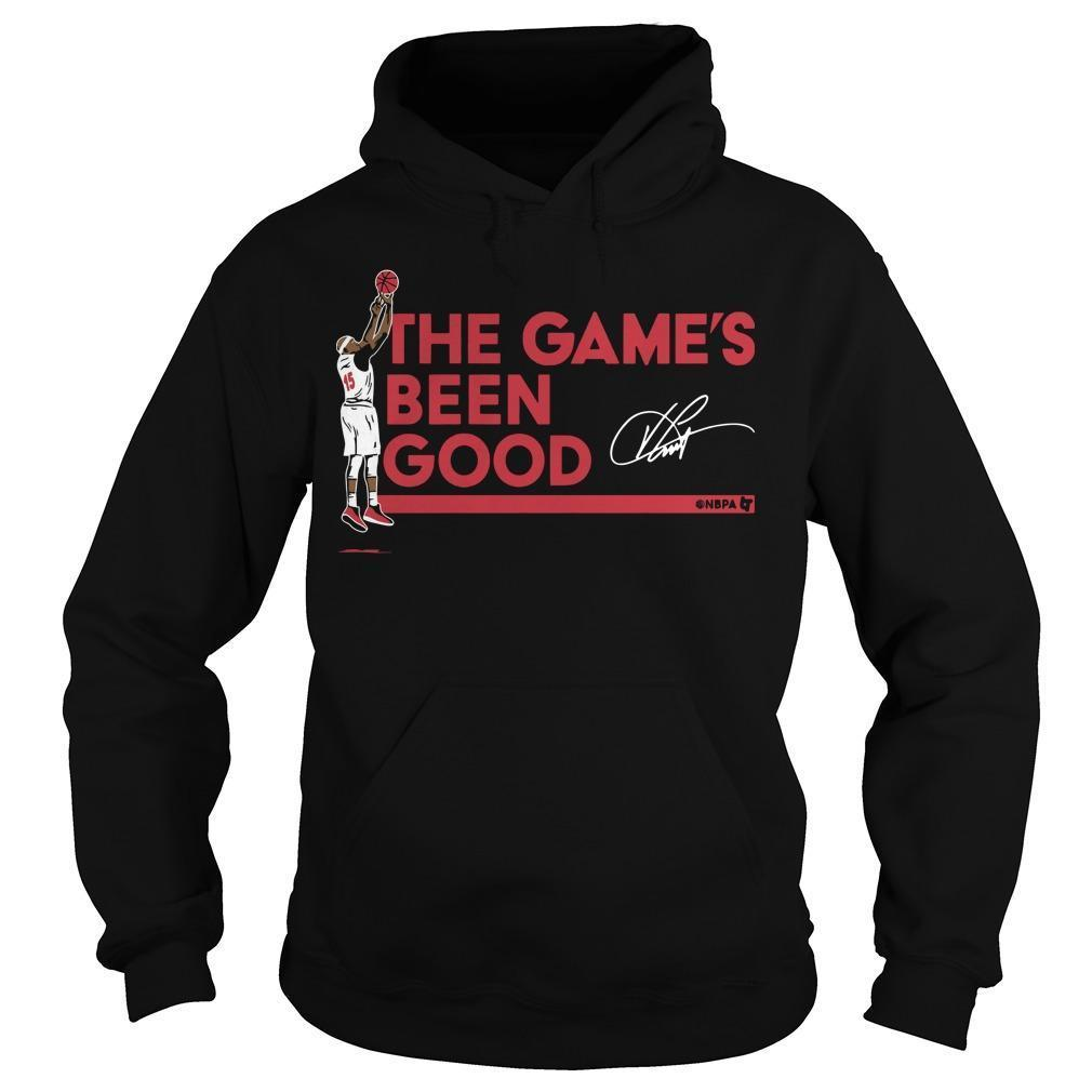 Vince Carter The Game's Been Good Hoodie