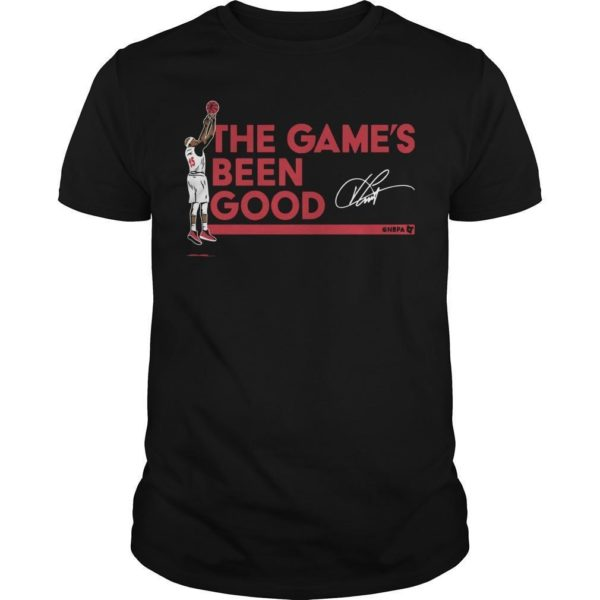 Vince Carter The Game's Been Good Shirt