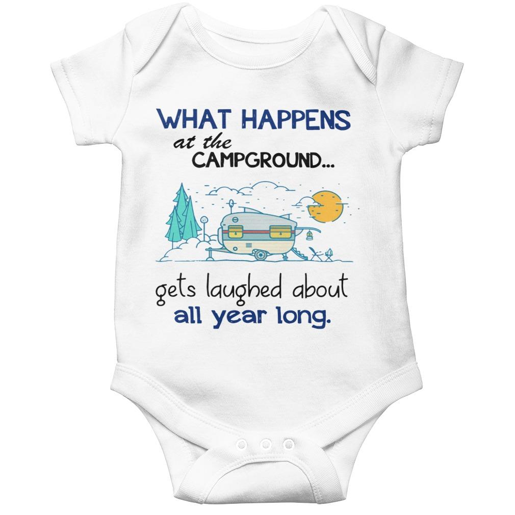 What Happens At The Campground Gets Laughed About All Year Long Longsleeve