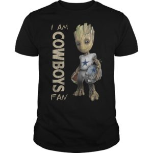 Baby Groot I Am Cowboys Fan Shirt