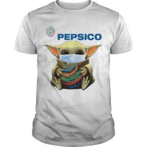 Baby Yoda Mask Pepsico Shirt