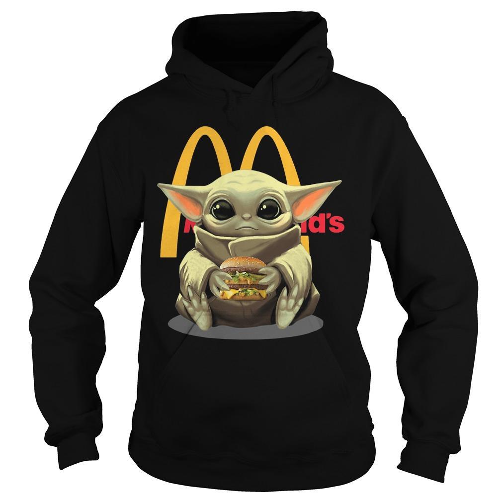 Baby Yoda Mcdonald's Hoodie