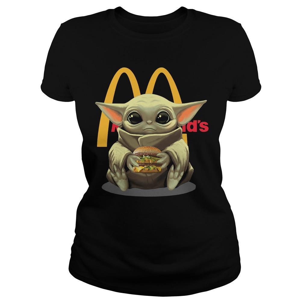 Baby Yoda Mcdonald's Longsleeve