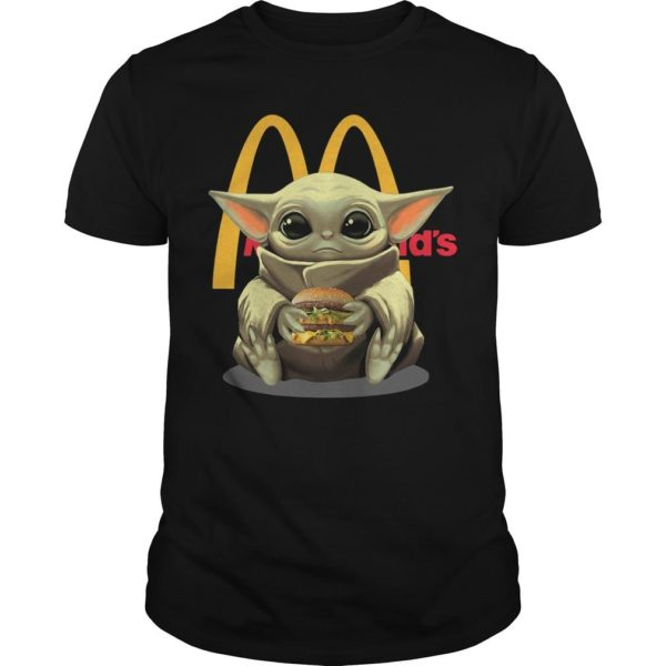 Baby Yoda Mcdonald's Shirt