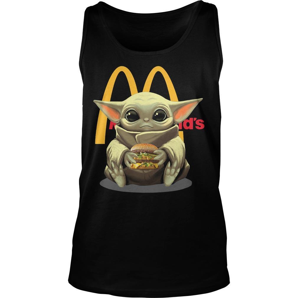 Baby Yoda Mcdonald's Tank Top