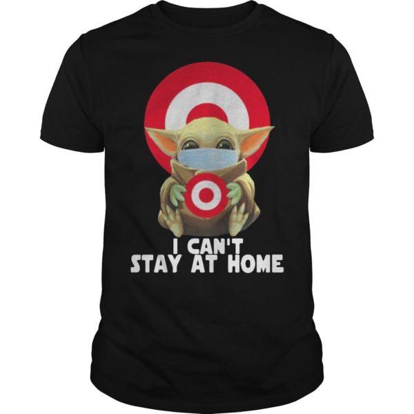 Baby Yoda Wearing Mask Target Shirt
