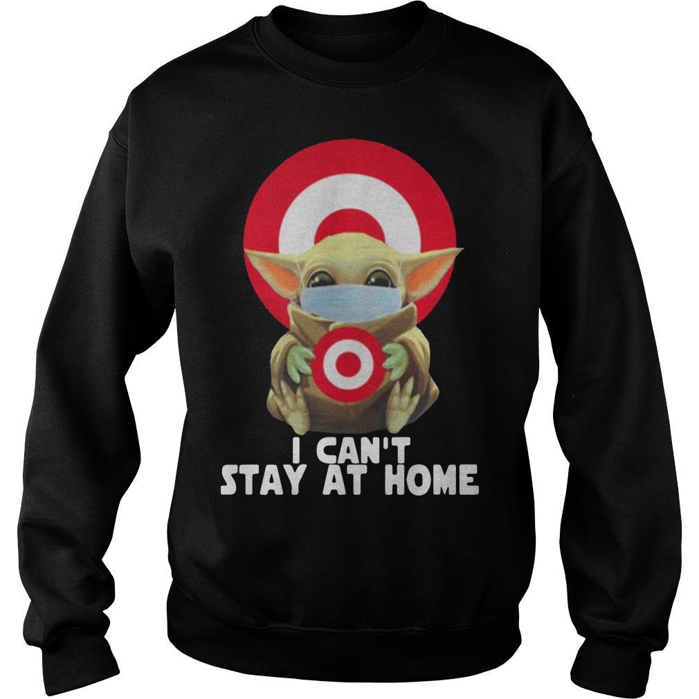 Baby Yoda Wearing Mask Target Sweater