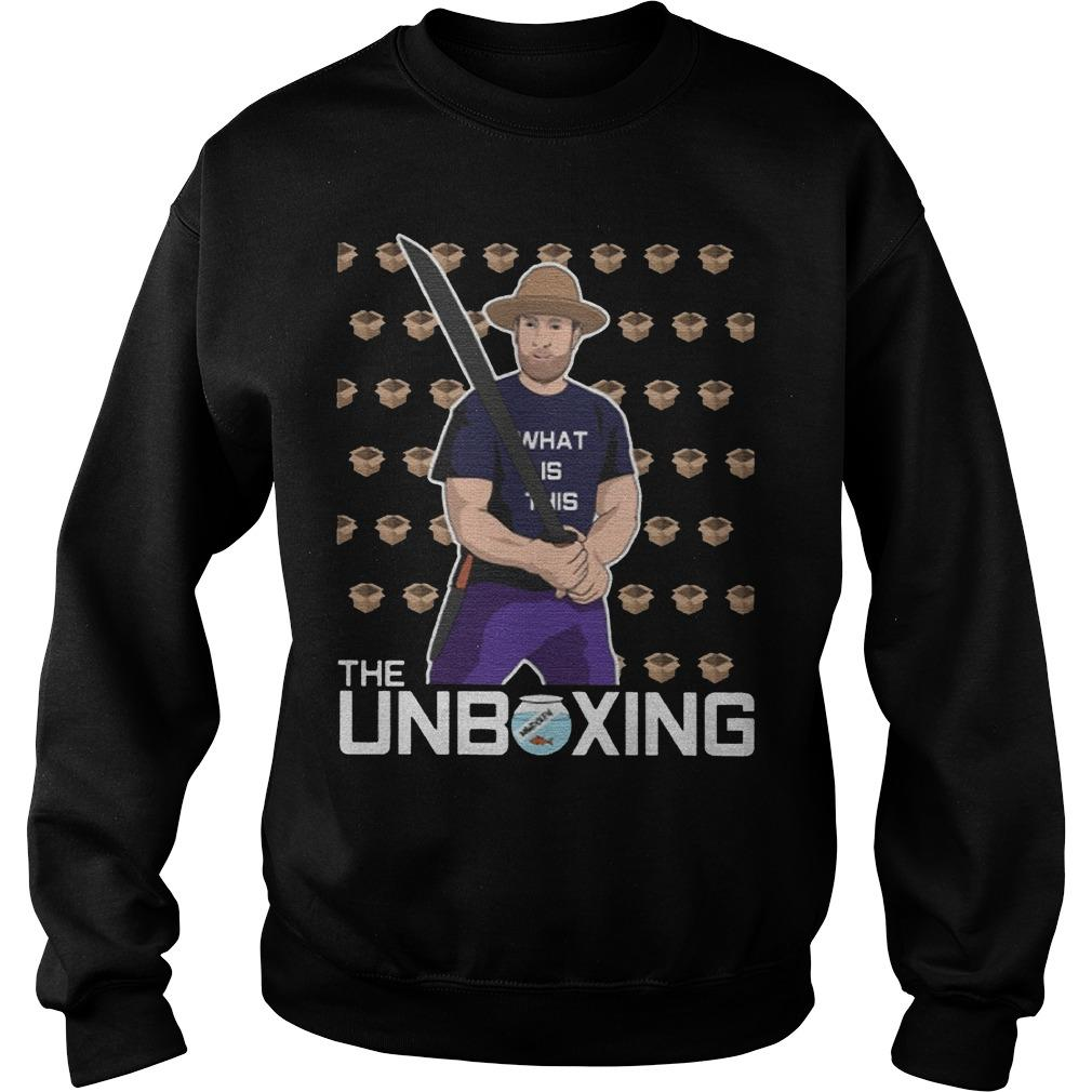 Barstool Unboxing Sweater