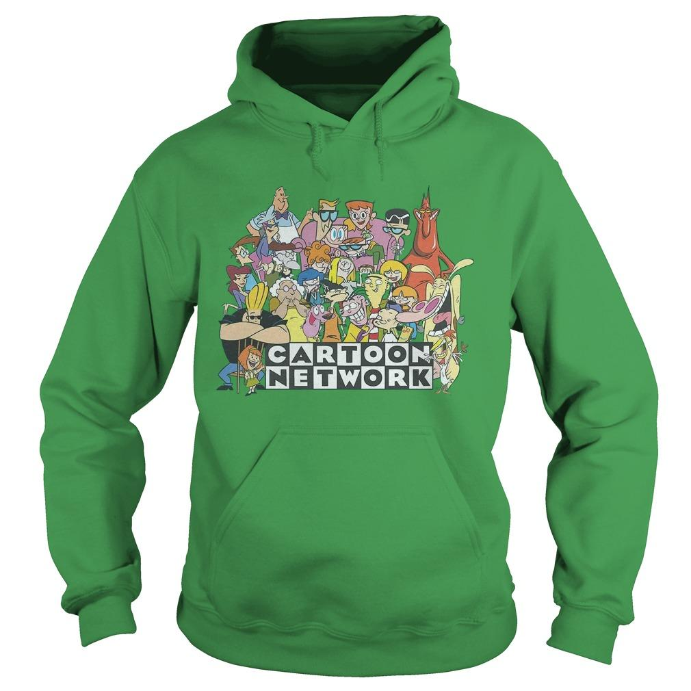 Cartoon Character With Green Hoodie