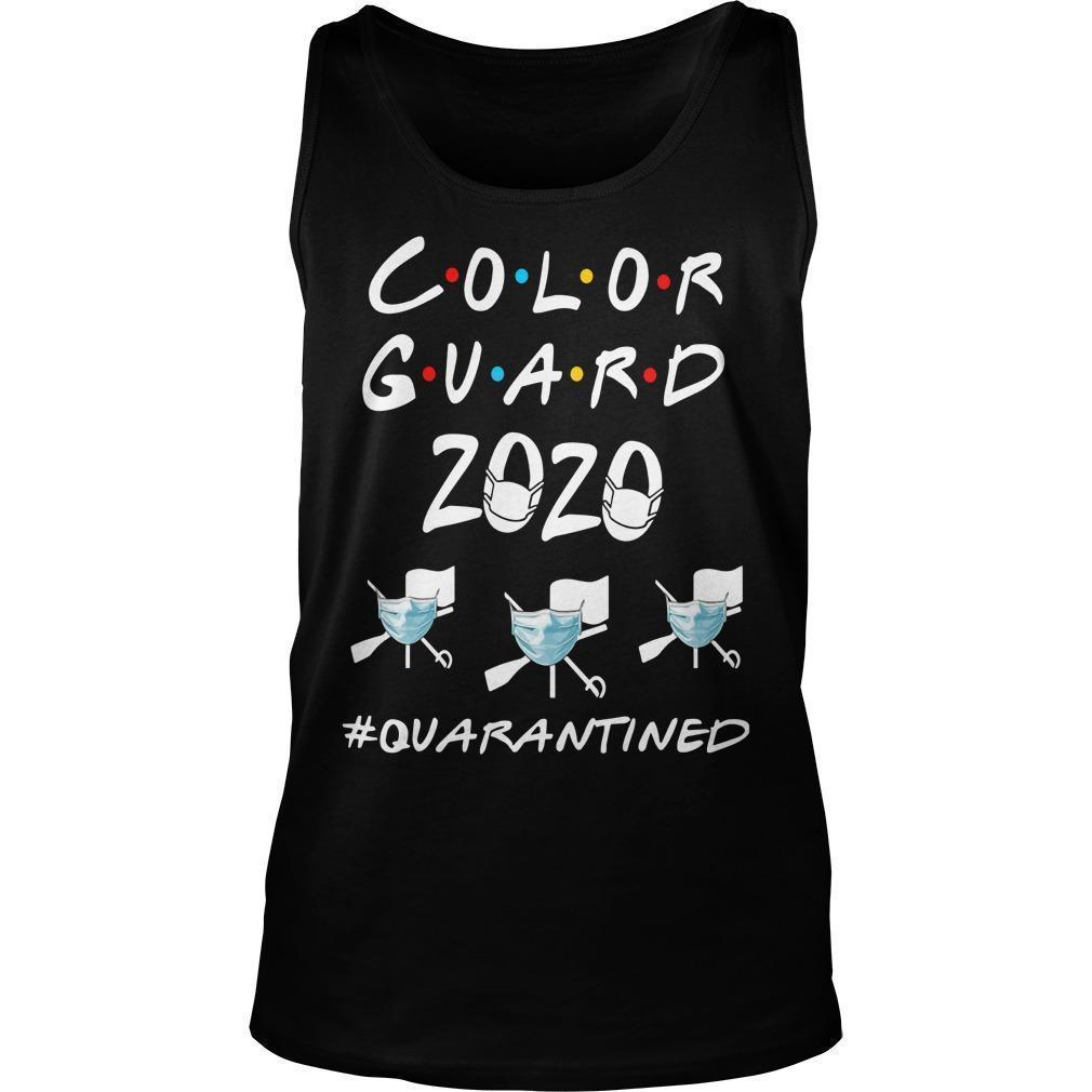 Color Guard 2020 #quarantined Tank Top