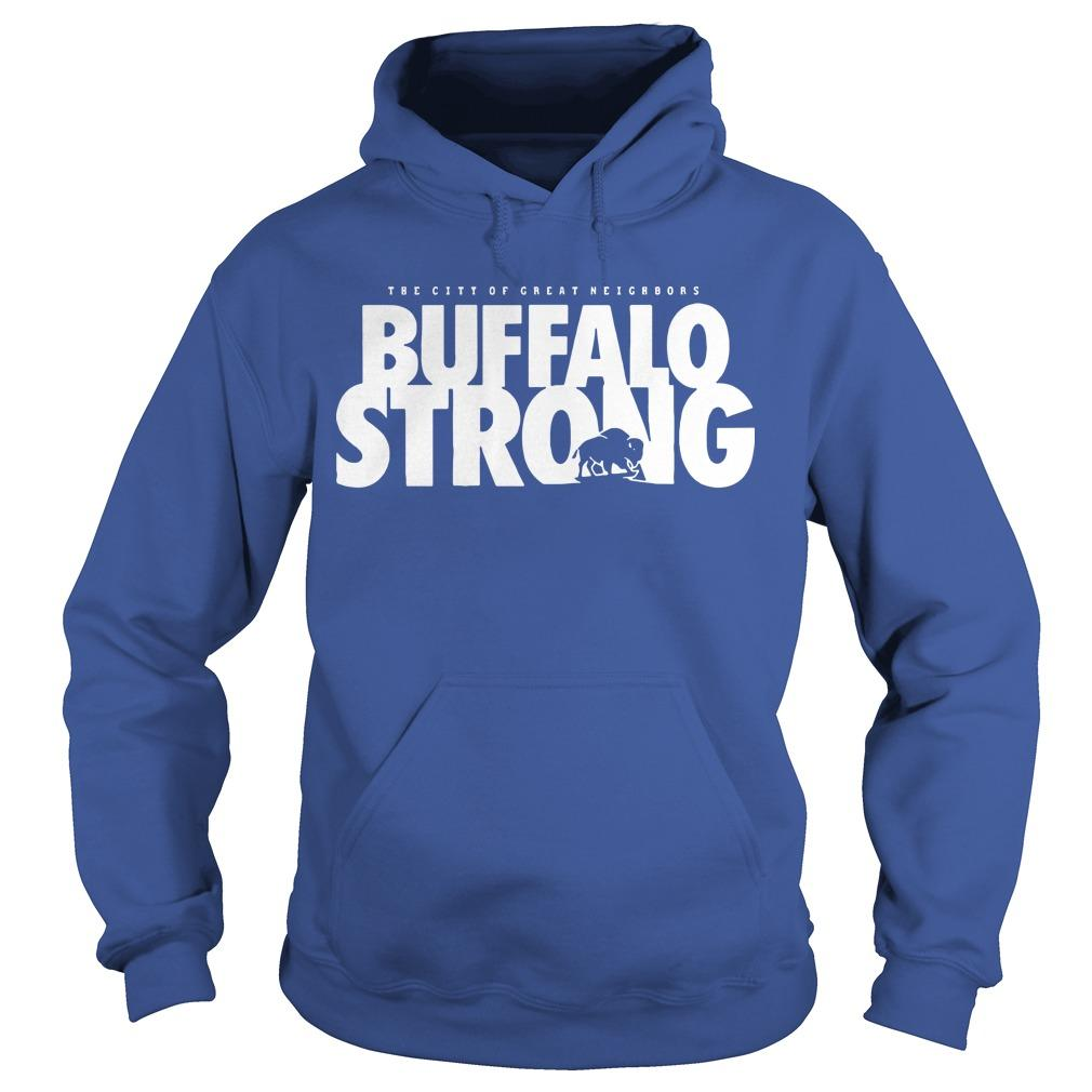 FeedMore WNY The City Of Great Neighbors Buffalo Strong Hoodie