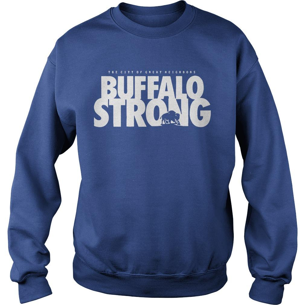 FeedMore WNY The City Of Great Neighbors Buffalo Strong Sweater