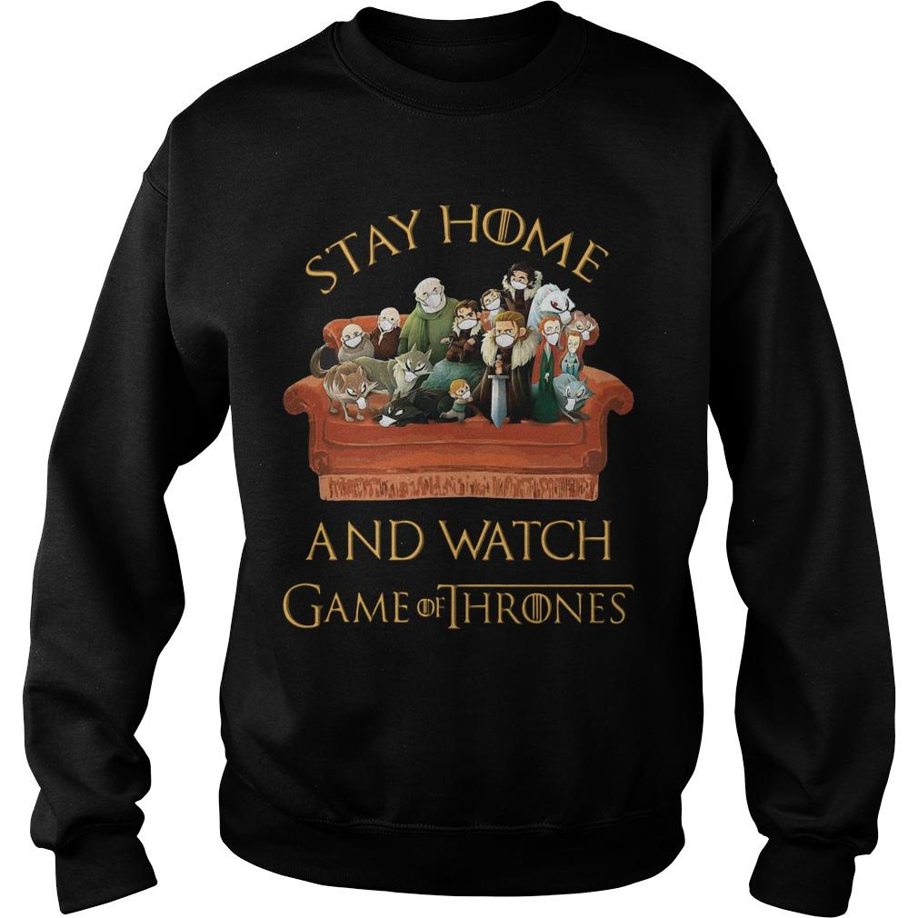 Stay Home And Watch Game Of Thrones Sweater