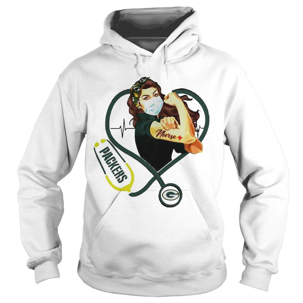 Stethoscope Strong Nurse Green Bay Packers Hoodie