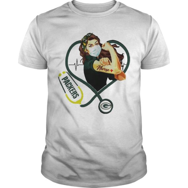 Stethoscope Strong Nurse Green Bay Packers Shirt