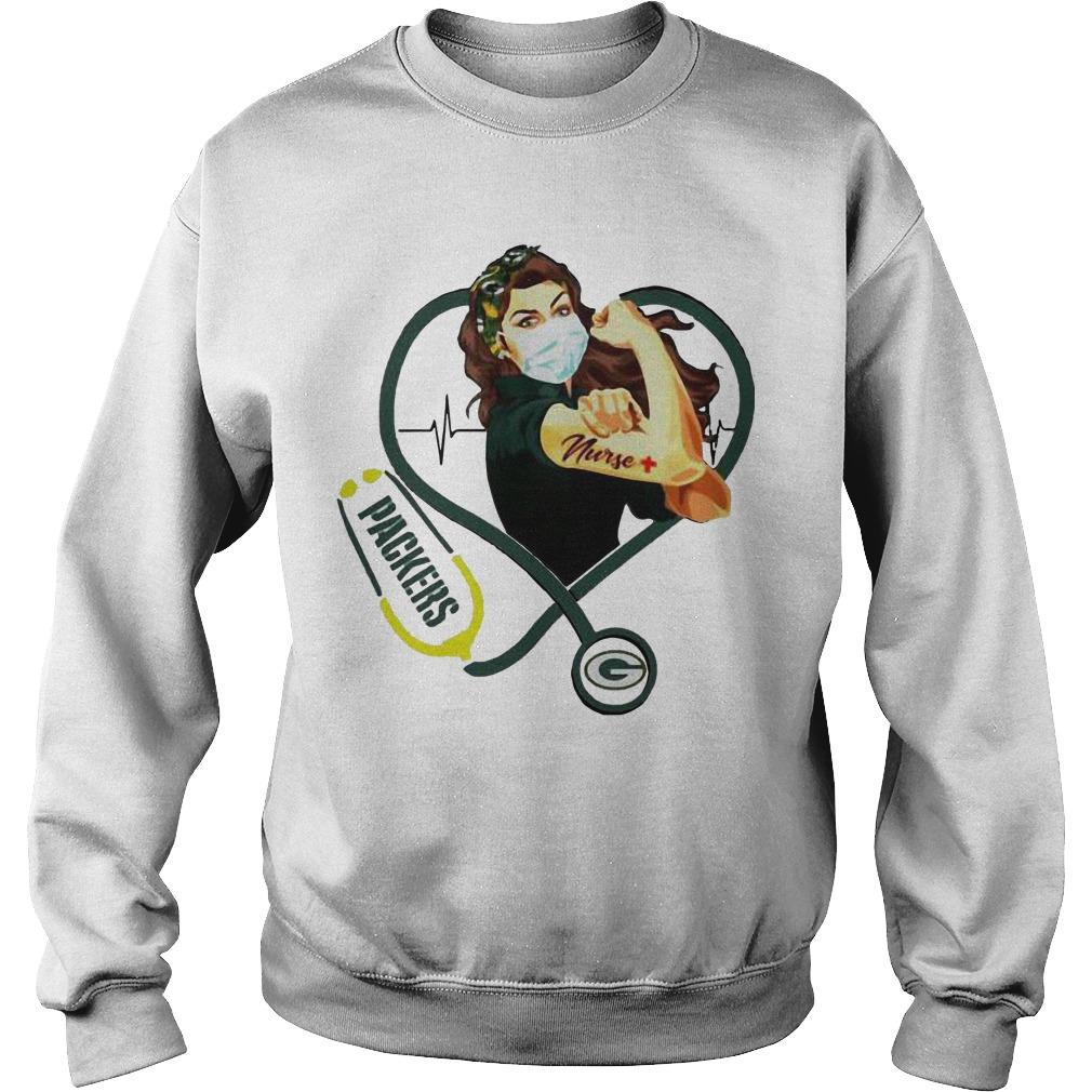 Stethoscope Strong Nurse Green Bay Packers Sweater