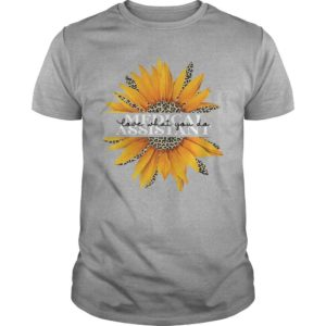 Sunflower Medical Assistant Love What You Do Shirt