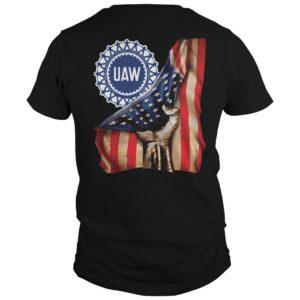 Uaw American Flag Shirt