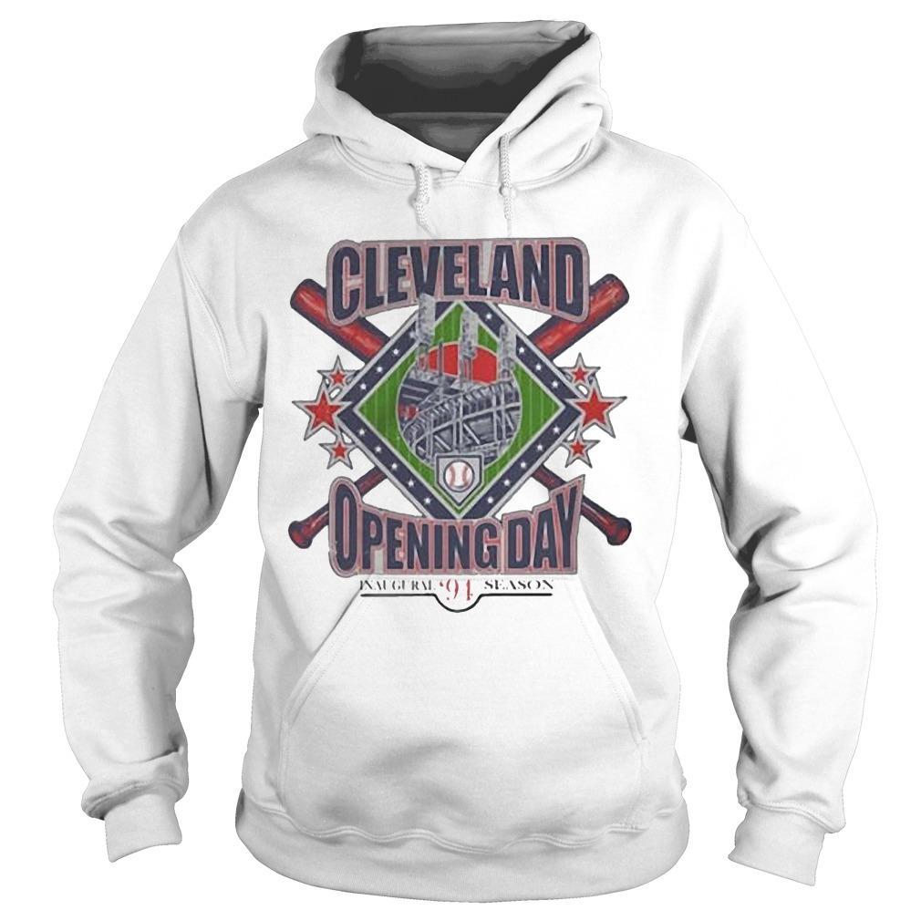 Vintage Cleveland Opening Day Inaugural '94 Season Hoodie