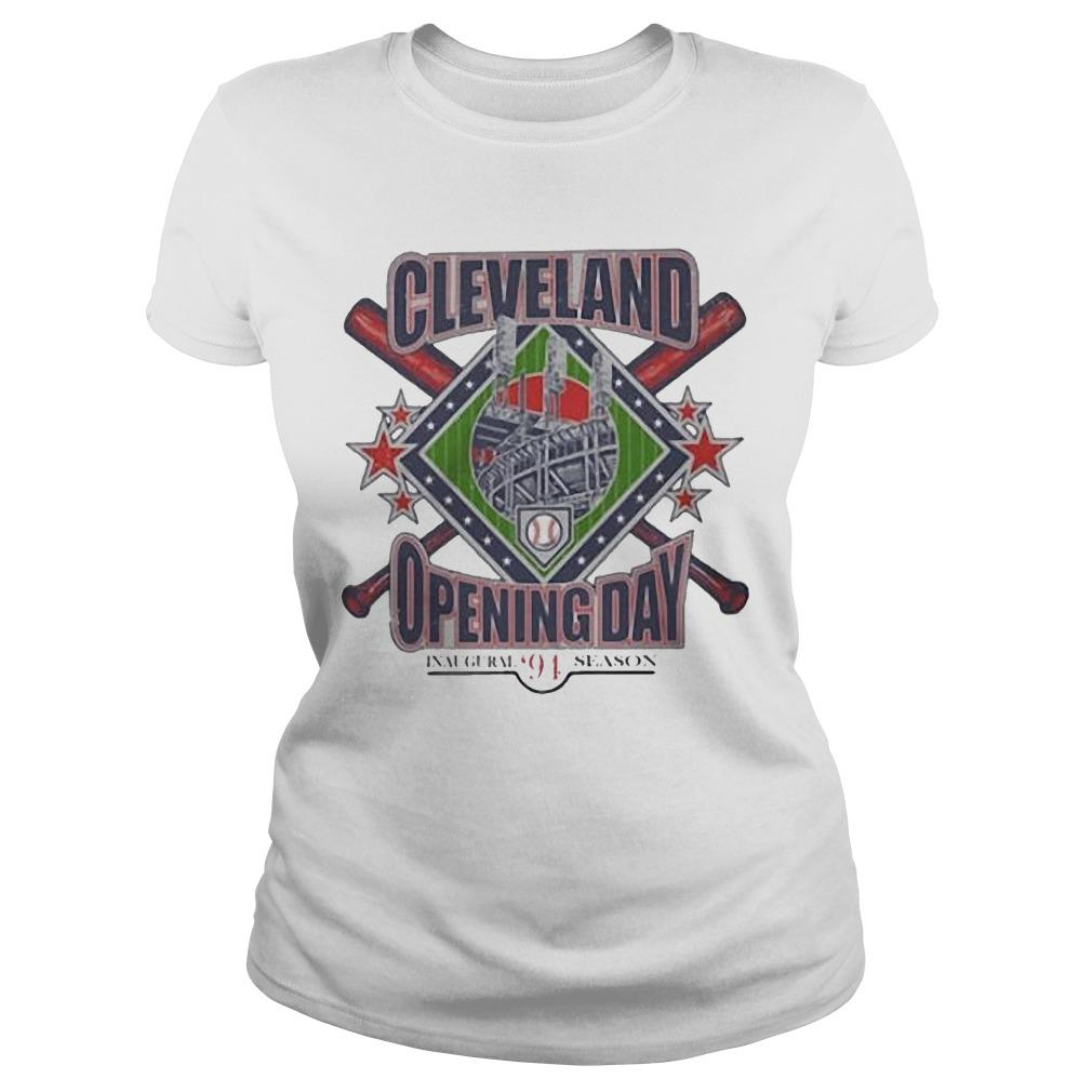 Vintage Cleveland Opening Day Inaugural '94 Season Longsleeve