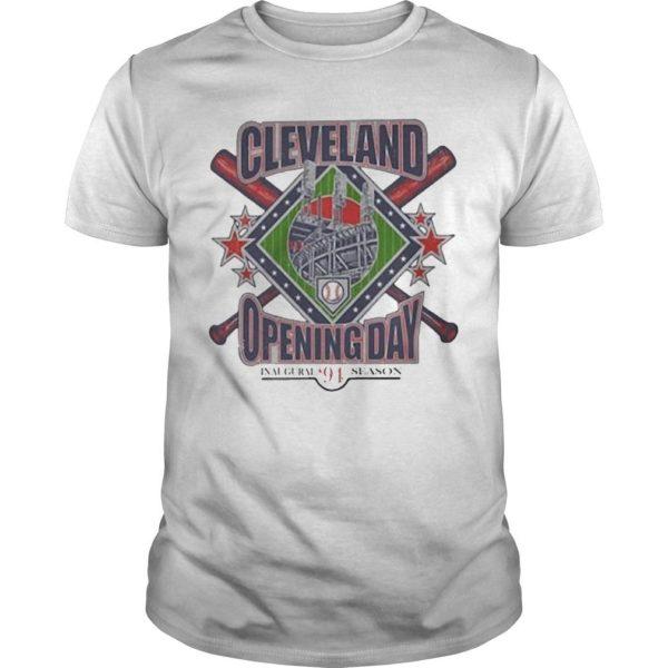 Vintage Cleveland Opening Day Inaugural '94 Season Shirt