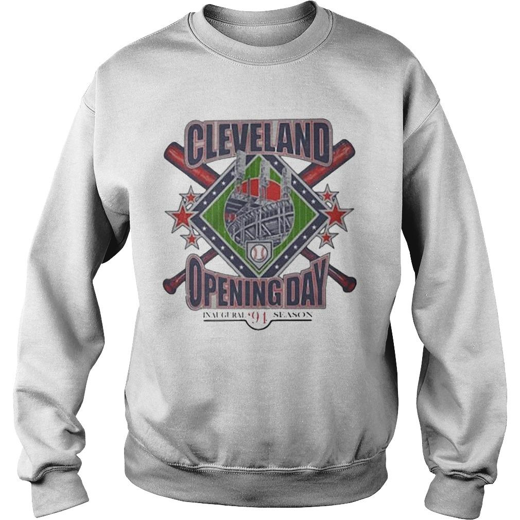 Vintage Cleveland Opening Day Inaugural '94 Season Sweater