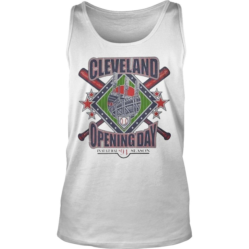 Vintage Cleveland Opening Day Inaugural '94 Season Tank Top